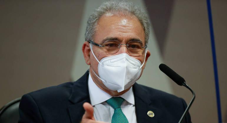 Queiroga diz que objetivo é oferecer, até o final do ano, imunização para toda a população brasileira
