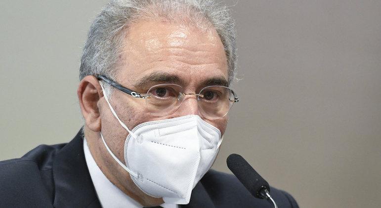 Marcelo Queiroga presta depoimento na CPI da Covid no Senado