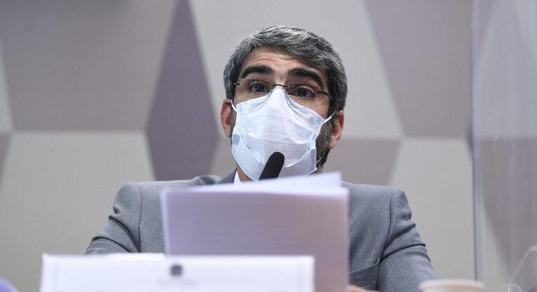 Diretor-presidente da ANS, Paulo Roberto Rebello Filho, em depoimento à CPI