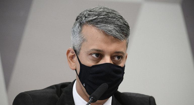 O ex-diretor de Logística do Ministério da Saúde Roberto Dias