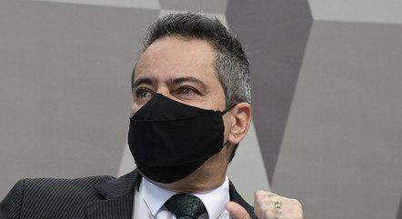 Elcio Franco foi o número 2 do ex-ministro Pazuello