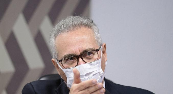 O relator da CPI da Covid, senador Renan Calheiros (MDB-AL)