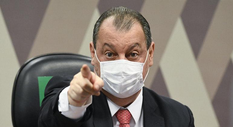 Ricardo Barros disse que CPI afastava laboratórios interessados em vender vacinas ao Brasil