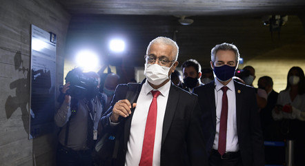 CEO da Vitamedic, Jaílton Batista, chega à CPI