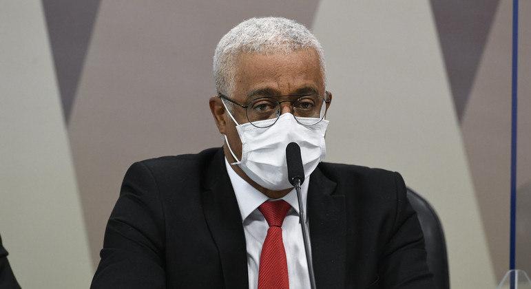 O CEO da Vitamedic, Jaílton Batista, em depoimento à CPI