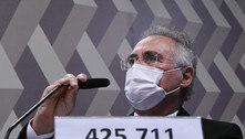 Renan diz que resposta a ataque de Bolsonaro é o 'número de mortos'