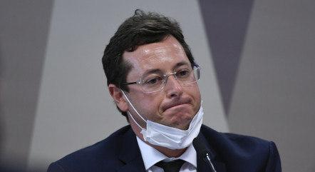 Na imagem, ex-secretário Fabio Wajngarten