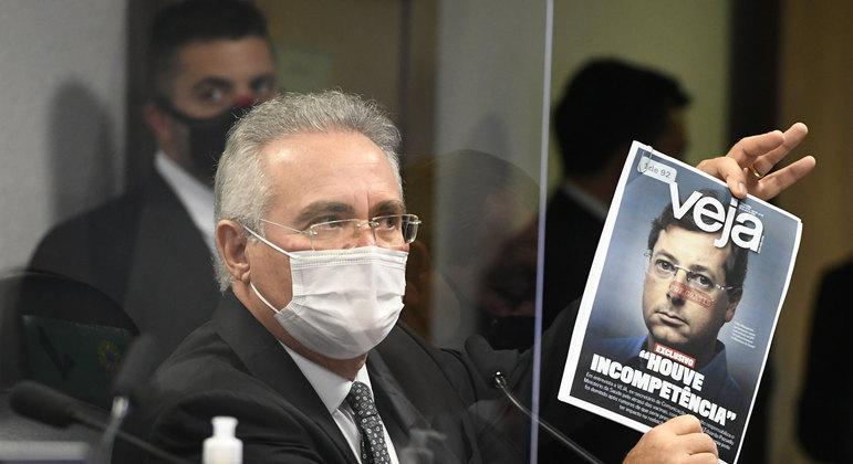 Renan Calheiros viu mentiras no depoimento de Wanjgarten e pediu pela prisão do ex-secretário