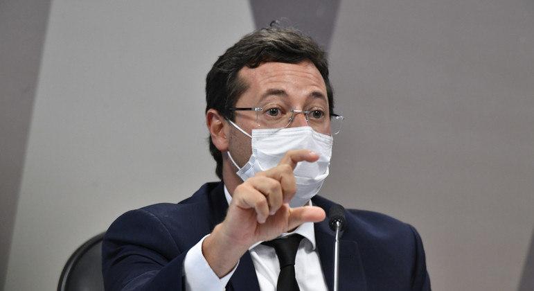 Wajngarten afirmou que não sabia se órgãos oficiais divulgaram campanha sobre a pandemia