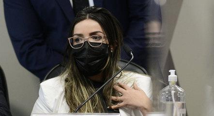 Emanuela foi dois dias seguidos à CPI