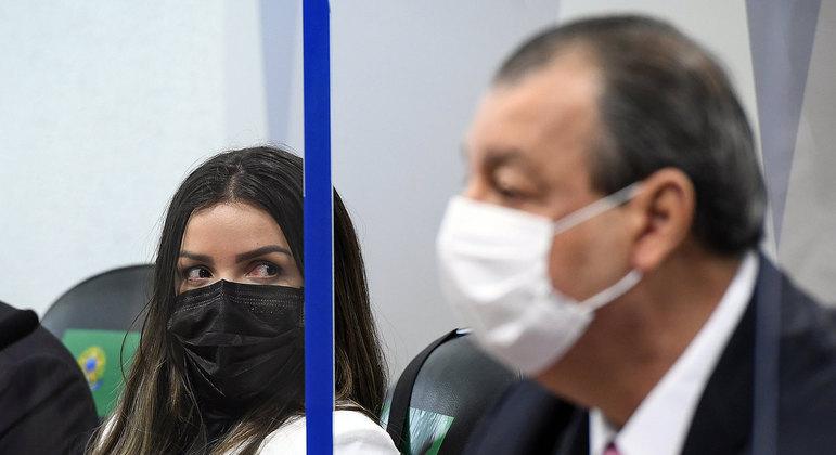 Emanuela Medrades se recusou a responder perguntas básicas dos senadores