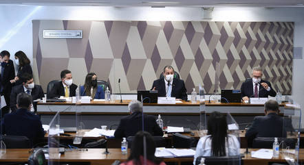 Na imagem, sessão da CPI com diretora da Precisa