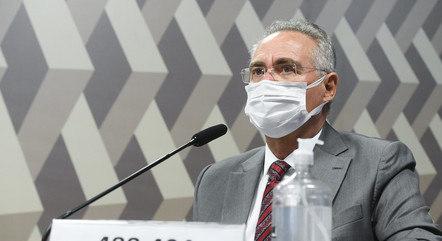 Renan Calheiros é o relator da CPI da Covid