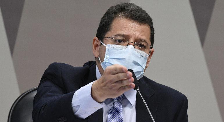 O ex-secretário de Saúde do Amazonas Marcellus Campelo