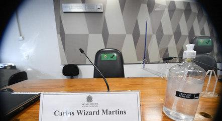 Wizard financiaria suposto gabinete paralelo