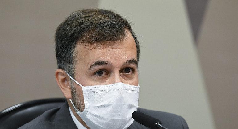O auditor do TCU Alexandre Figueiredo Costa Silva Marques, suspenso pela elaboração de 'relatório paralelo' da Covid