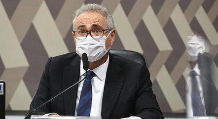 Mais cedo, Renan tornou Ricardo Barros investigado