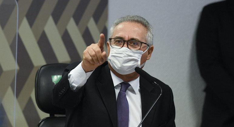 Relator da CPI da Pandemia, senador Renan Calheiros (MDB-AL).