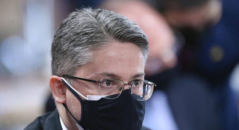 Senador faz parte do grupo de oposicionistas e independentes ao governo Bolsonaro na CPI