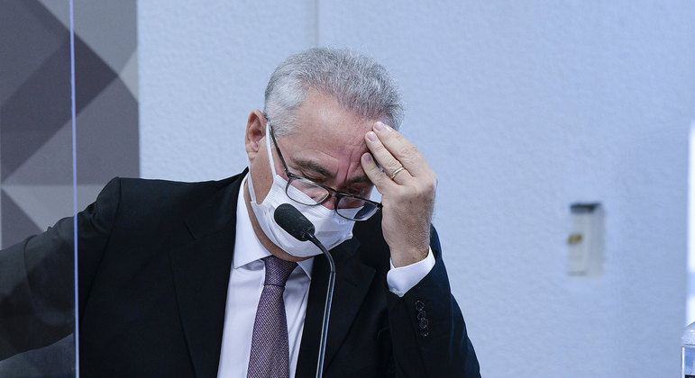 Relator da CPI da Pandemia, o senador Renan Calheiros (MDB-AL).