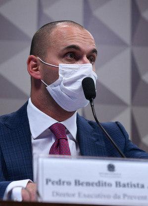 Diretor-executivo da operadora de saúde Prevent Senior, Pedro Benedito Batista Júnior
