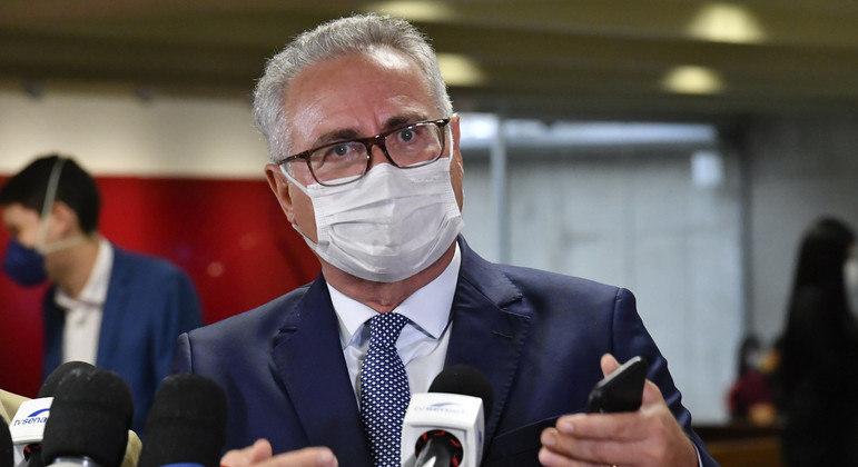Relator da CPI da Covid-19, senador Renan Calheiros
