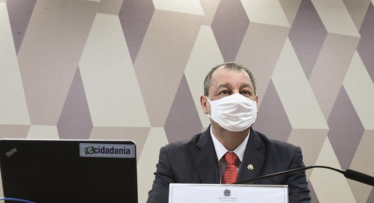 CPI da Covid tem 100 GB em documentos sigilosos, diz presidente