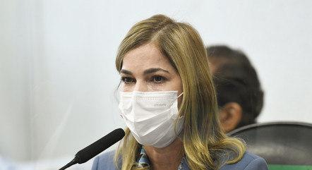 Mayra Pinheiro, secretária no Ministério da Saúde