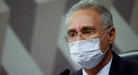 Relator da CPI da Covid no Senado, Renan Calheiros