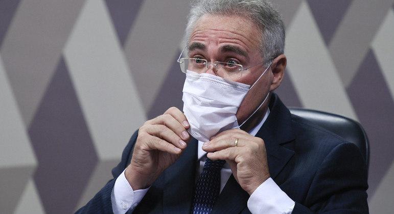 Senador Renan Calheiros (MDB-AL).     Foto: Edilson Rodrigues/Agência Senado