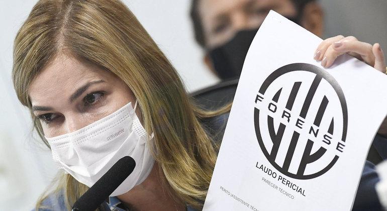 Mayra Pinheiro acusou jornalista, sem provas, de divulgar de forma indevida os dados