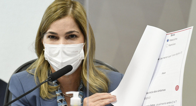 A secretária de Gestão do Trabalho e da Educação do Ministério da Saúde, Mayra Pinheiro