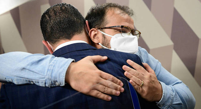 Irmãos Miranda alegam irregularidades na compra da vacina indiana Covaxin