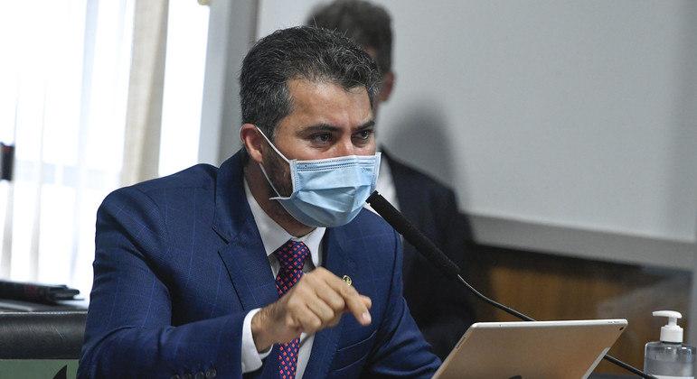 O senador Marcos Rogério, líder do DEM e vice-líder do governo na Casa: segundo ele, aliados não têm se reunido