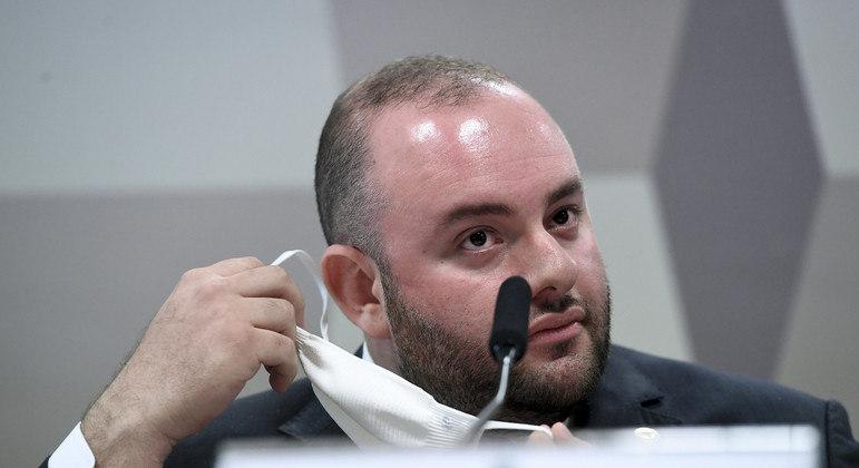 Fausto Vieira na CPI da Covid nesta terça (29)