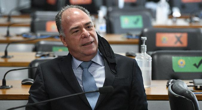O senador Fernando Bezerra Coelho (MDB-PE), que faz parte da CPI da Covid