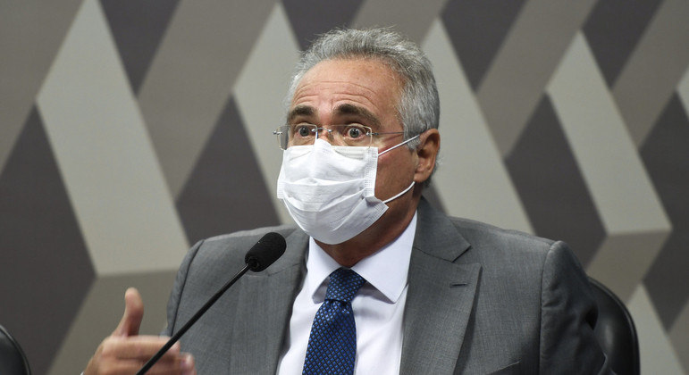 Senador Renan Calheiros (MDB-AL)  é o relator da CPI da Covid