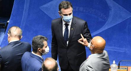 """Pacheco defendeu """"harmonização"""" entre os Poderes"""