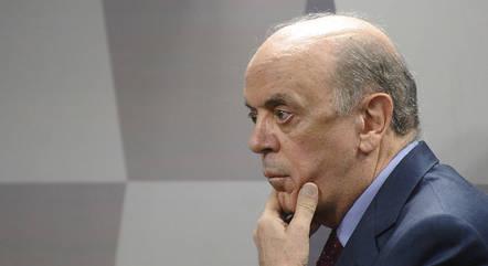 Na imagem, senador José Serra (PSDB-SP)