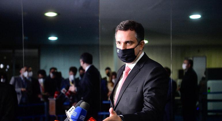 Rodrigo Pacheco, presidente do Senado Federal e do Congresso Nacional
