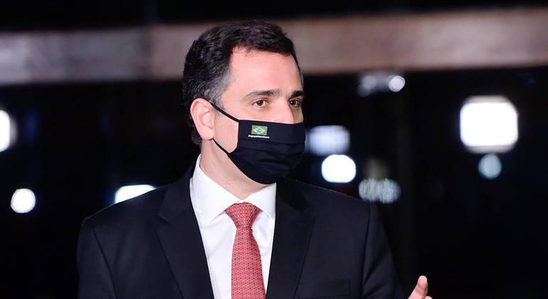 Ato do presidente do Senado, Rodrigo Pacheco (DEM-MG) contraria os interesses do presidente Jair Bolsonaro.