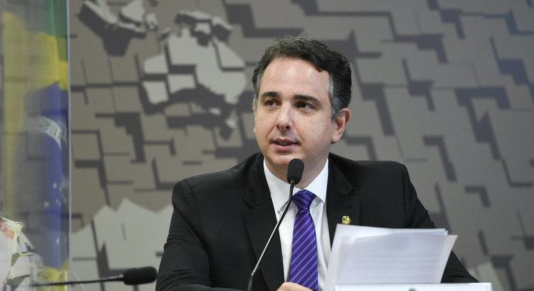 O presidente do Senado, Rodrigo Pacheco, comentou a alta no preço dos combustíveis