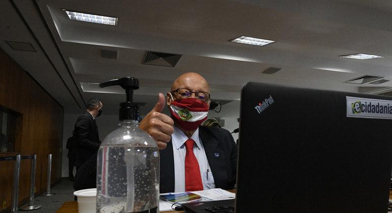 O senador Esperidião Amin (PP-SC)