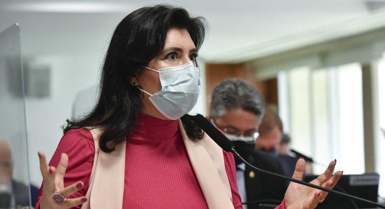 Senadora Simone Tebet: relatora do proposta