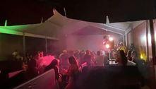 Polícia fecha festa com 177 pessoas aglomeradas na zona leste de SP