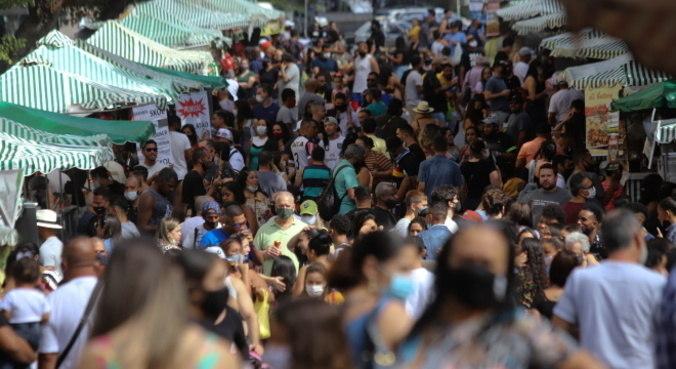 Dados não se referem às aglomerações do último final de semana prolongado