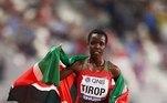 'Ficamos muito perturbados ao saber da morte prematura da medalhista de bronze mundial dos 10.000 metros, Agnes Jebet Tirop', lamentou a entidade queniana
