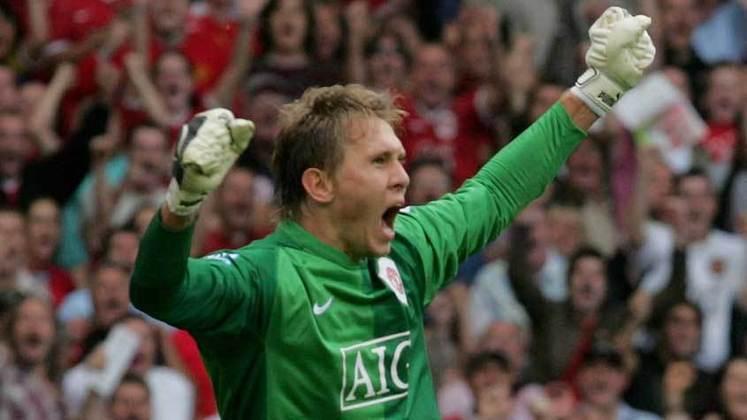 Agora vamos aos reservas! Tomasz Kuszczak - goleiro polonês foi reserva de Van der Sar em sua passagem pelo United. Atualmente atua pelo Birmingham.