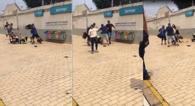 Polícia prende cinco suspeitos de agressão a dois guardas na estação Ipiranga