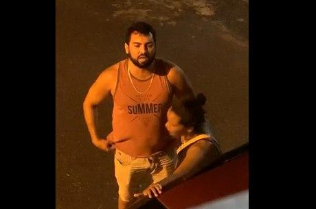 Suspeito agride mulher com socos em Ilhéus (BA)